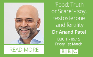 Dr Anand Patel – Food: Truth or Scare – BBC1